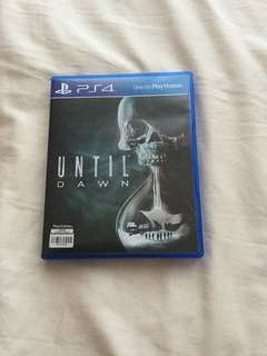 PS4 Until Dawn