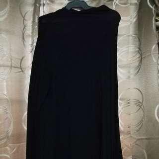 Zara Long sleeve Black Loose Dress
