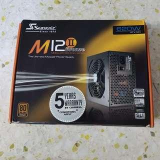 Seasonic M12 bronze 620w power supply