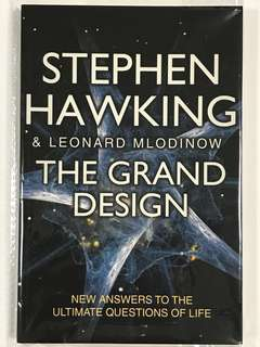 The Grand Design / New Answers To The Question Of Live - STEPHEN HAWKING & LEONARD MLODINOV (include normal mailing)