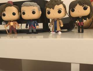 Doctor Who Pop Vinyl Lot