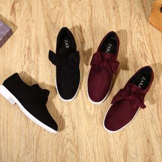 ZARA Bow Loafer Shoes