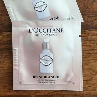 L'OCCITANE Reine Blanche Whitening Infusion Serum Sachet 1ml