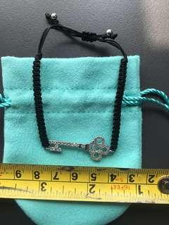 鎖匙款水晶手鏈