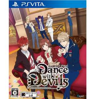 [RESERVED] PS VITA[JP] - Dance with Devils - Animate Limited Edition Set