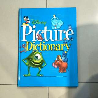 disney picture dictionary (children's books) 4 - 8 year olds