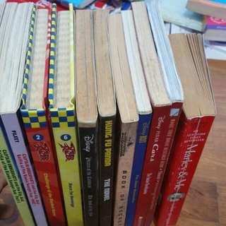 Children Movie Novels and Captain Underpants.
