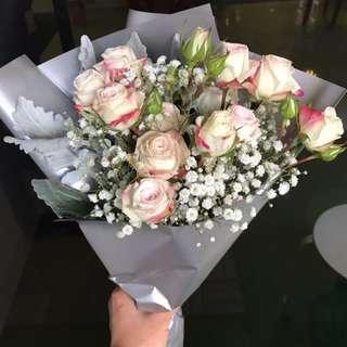 Flower - Rose Spray Bouquet