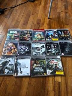 PS3 + PS3 Games