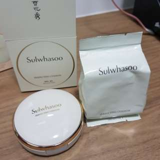 Sulwhasoo Perfecting Cushion & refill pack