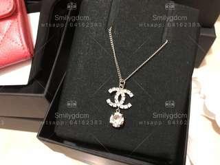 Chanel Necklace CC Logo
