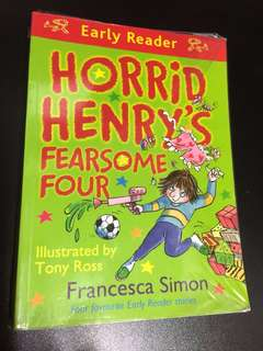 Early Readers- Horrid Henry-fearsome four