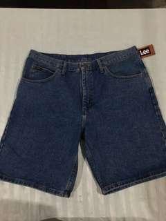 Lee Denim Shorts Size 38