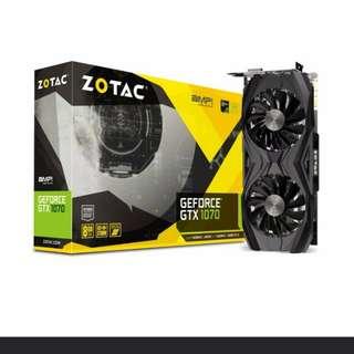 Zotac GTX 1070 AMP Core Edition