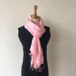 ‼️BRAND NEW SPECIAL PRICE‼️ Baby Pink Scarf