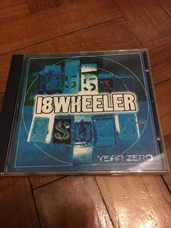 18 WHEELER Year Zero CD (Shoegaze/Indie pop)