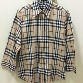 Burberry 3/4-sleeve shirt (woman)