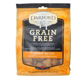 Darford Treats Grain Free Pumpkin 340g
