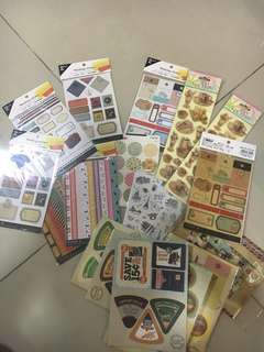 Bundle of stickers