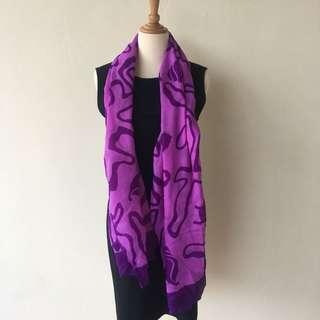 ‼️BRAND NEW SPECIAL PRICE‼️ Purple Square Scarf
