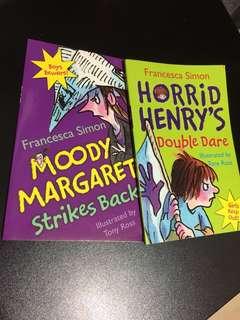 Early Readers- Horrid Henry-mini book