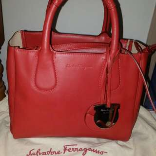 Salvatore Ferragamo Leather Bag