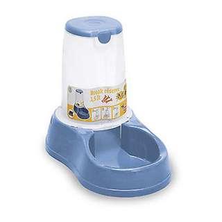 Stefanplast Break Reserve Water / Food Dispenser for Dogs & Cats 0.65L - Blue