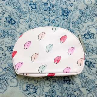 [FREE mail] BN Lancome travel / makeup pouch / clutch / bag