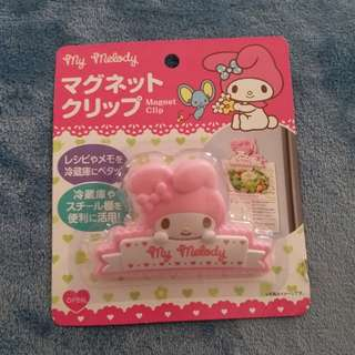 My Melody magnet clip