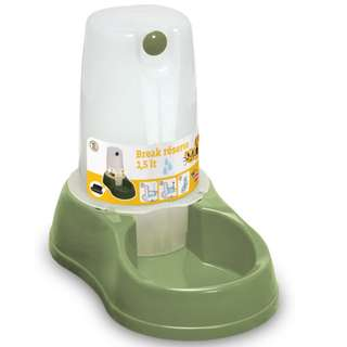 Stefanplast Break Reserve Water Dispenser for Dogs & Cats 1.5L - Green