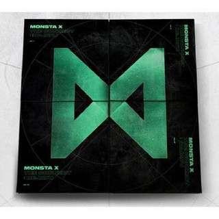 [PREORDER] MONSTA X THE CONNECT: DEJAVU ALBUM