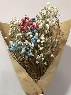Dried Babybreath Bouquet