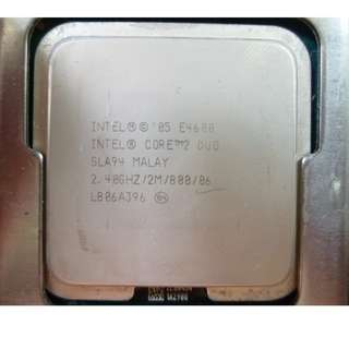 Intel Core 2 Duo E4600 SLA94 2.4GHz 2MB CPU Processor LGA775 [a2]