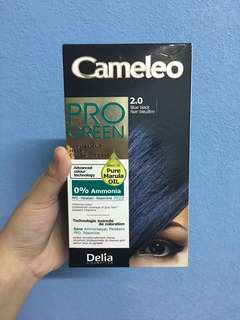 CAMELEO BLUE BLACK HAIR DYE