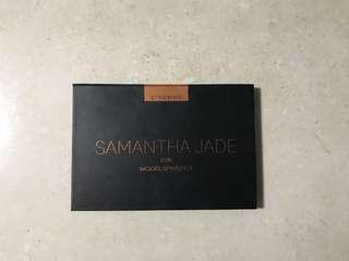Samantha Jade strobing palette models prefer