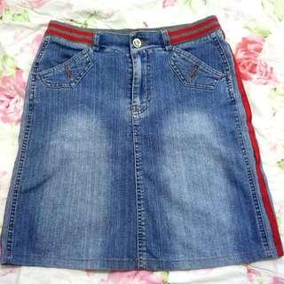 Preloved Denim Skirt for 50 pesos only!