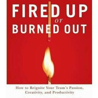 Fired up or Burn out Business Book
