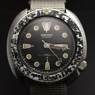 Vintage Seiko Grey 'Camo' Aged Gen3 Diver