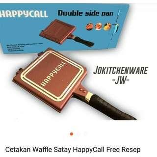 Cetakan Waffle Sate Happycall TERMURAH