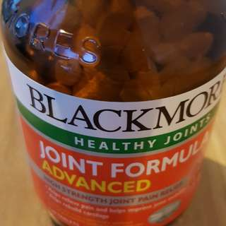Wts blackmores healthy joint. Joint formula advance