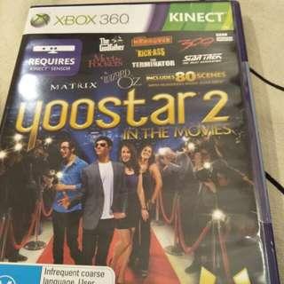 Xbox 360 kinect yoostar 2