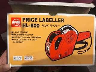 Price labeller打價錢機