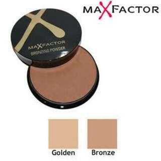 Max Factor Bronzer