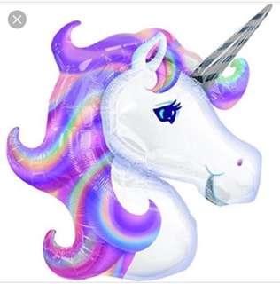 BN Unicorn pastel balloon