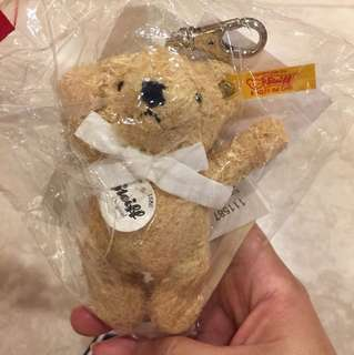 Steiff 德國金耳釦泰迪熊吊飾