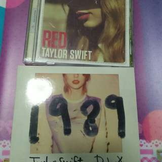 Selling cheap CDs (Taylor Swift)