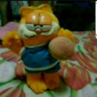 Instock Soft Toy Garfield With Ball