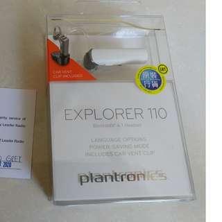 全新 藍牙耳機 Plantronics explorer 110