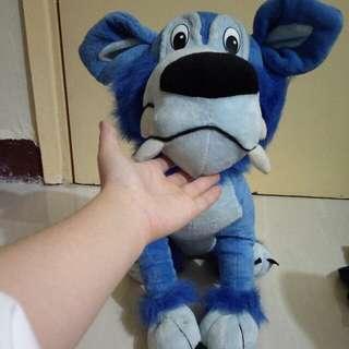 藍狼公仔 50cm