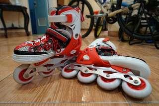 Sepatu roda satu garis